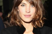 Alexa Chung's Signature Hairstyle: the Parted Fringe