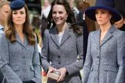 Kate Middleton in Michael Kors coat
