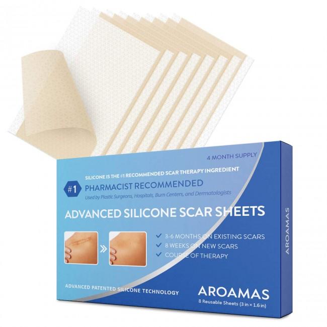 St. Mege Medical-Grade Drug-Free Silicone Scar Sheets