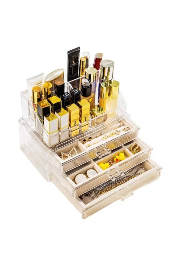 Jewelry Box Acrylic Makeup Organizer