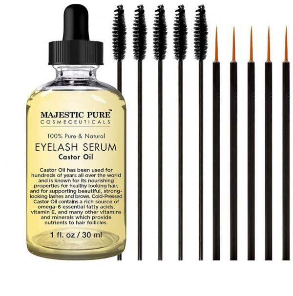 Majestic Pure Castor Oil Eyelash Serum