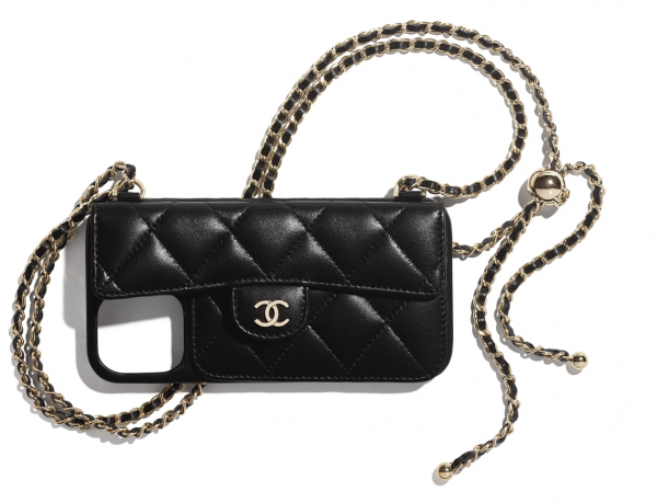 Chanel Phone Case On Chain