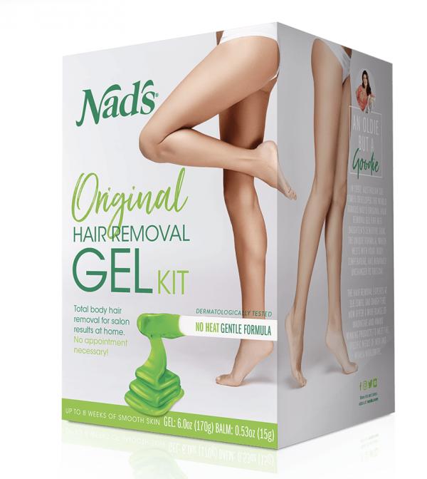 Nad's Naturals Hair Removal Gel Kit
