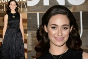 Emmy Rossum Adds Antique Necklace To H&M Conscious Collection Gown: Best Bling Of The Week