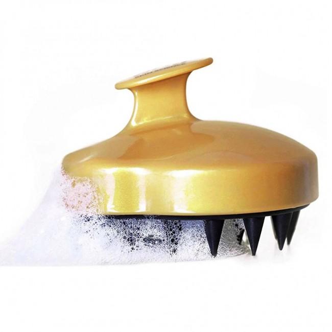 WOW Skin Science Shampoo Brush: Stimulating Scalp Exfoliating Massage Brush